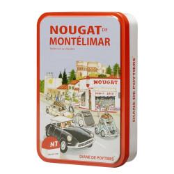 "Metal box ""N7"" sweets from Montélimar 200g"