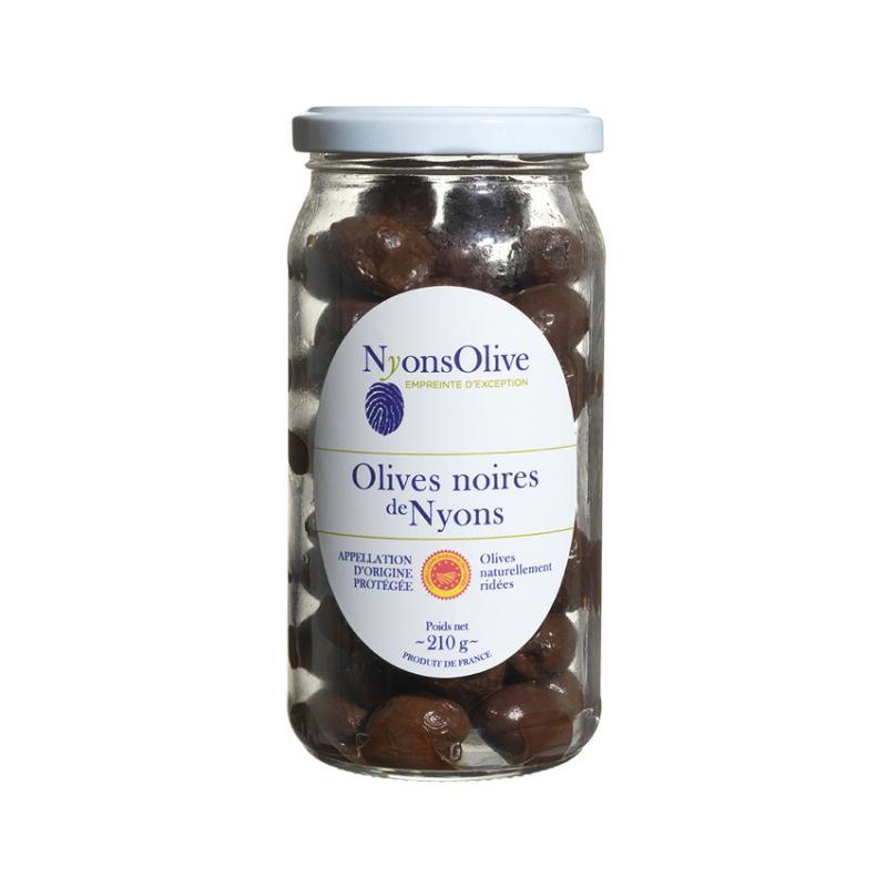 Olives noires de Nyons - Pot 210 g