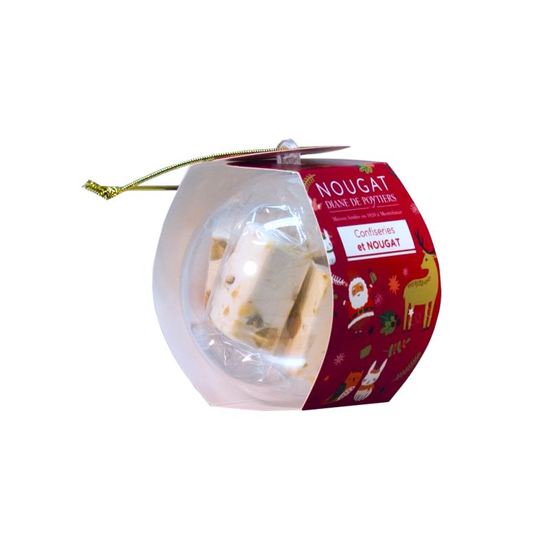 Boule de Noël 60 g au prix de 2,50 € par 6 pièces